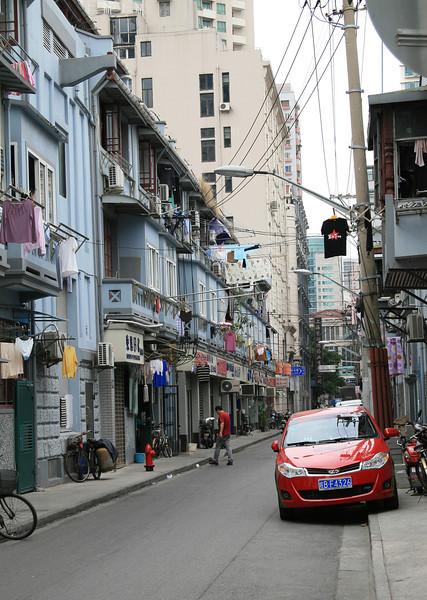 Typical Shanghai street