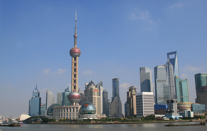 View of the Pudong from the Bund