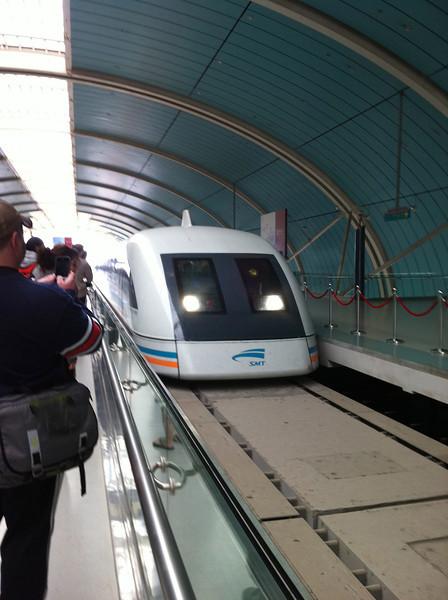 The Shanghai Maglev Train