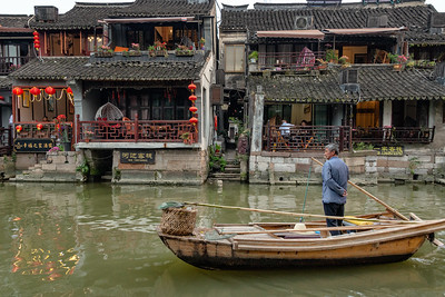 Xitang Ancient River Town, China - 2018