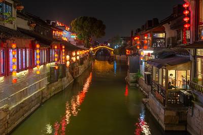 Xitang Ancient River Town, China - 2018
