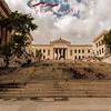 Las escaleras en la Unviserdiad de la Habana, Cuba