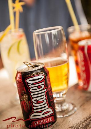 Local beer - Bucanero tastes like Mexican Modelo.