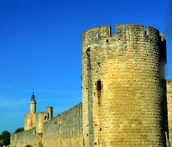 Aigues Mortes, Camargue -- Fortifications