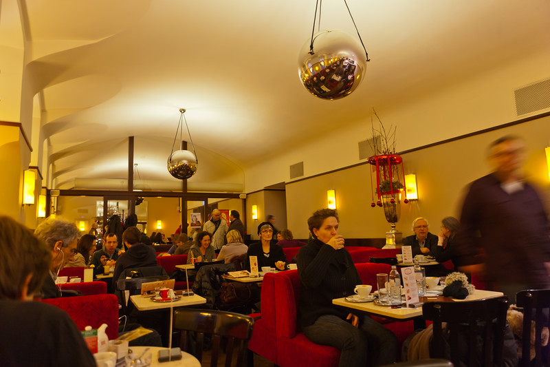 Cafe Museum in Vienna