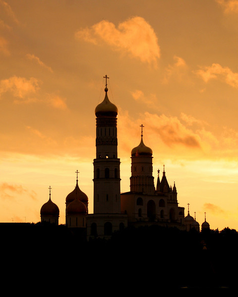 Kremlin at sunset