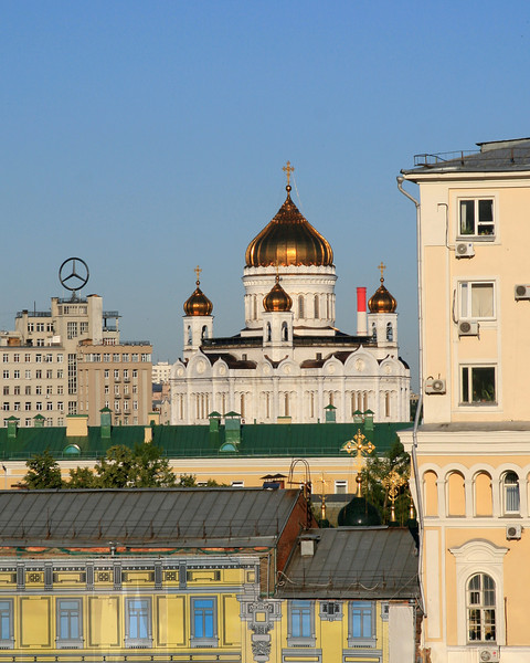 Cathedral of Christ the Saviour (view from our room)