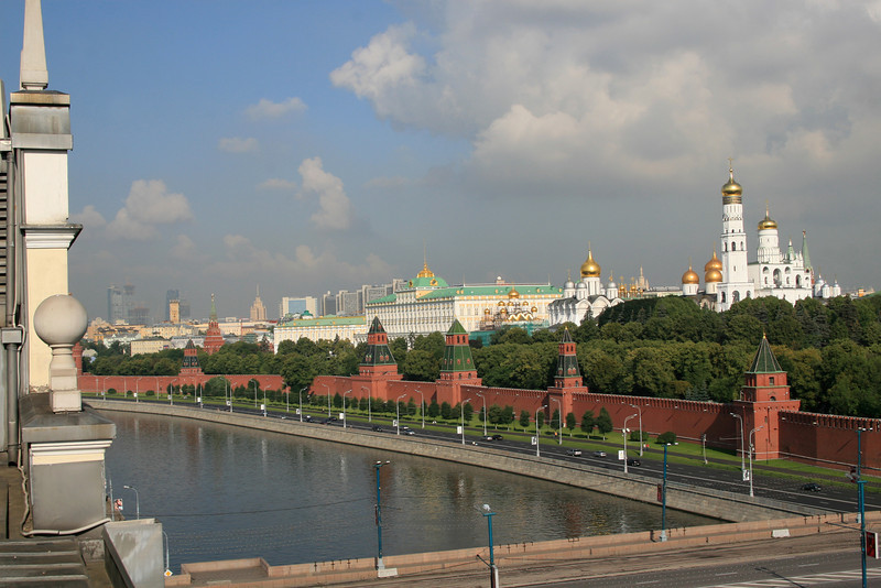 Kremlin and the Moscow River
