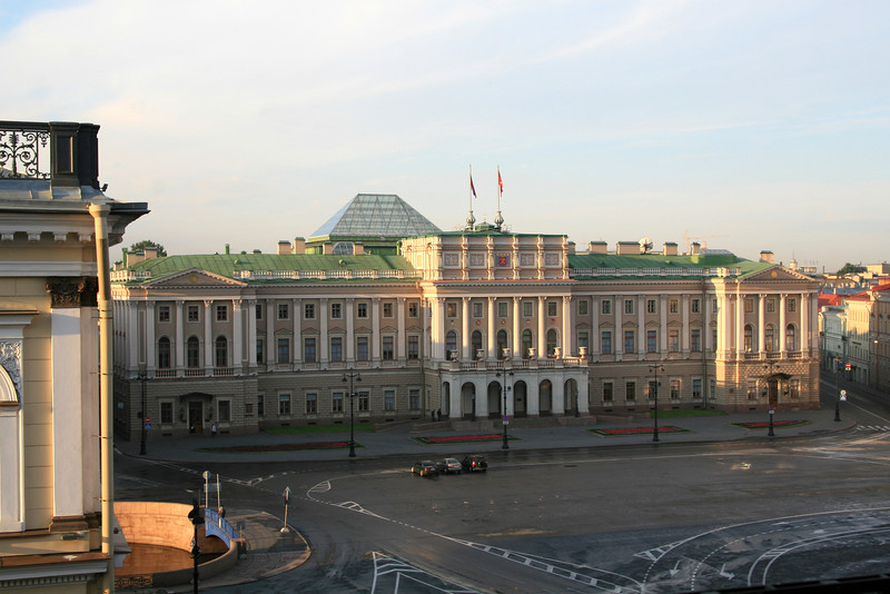 View from our room - Mariinsky Palace