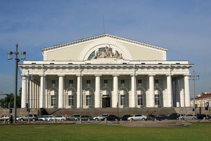 Old Saint Petersburg Stock Exchange