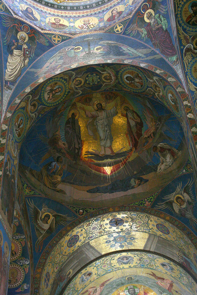 Church of the Savior on Blood - interior mosaics