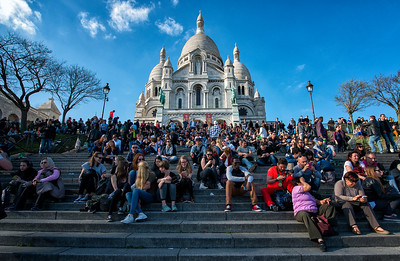 Sacré-Cœur, Paris, France - 2015