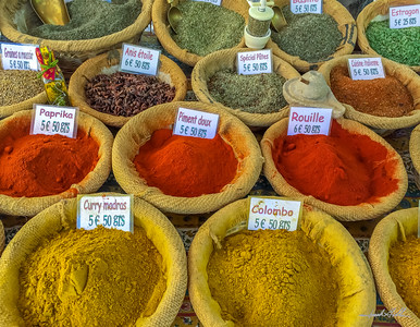 Spices in the Arles Saturday Market