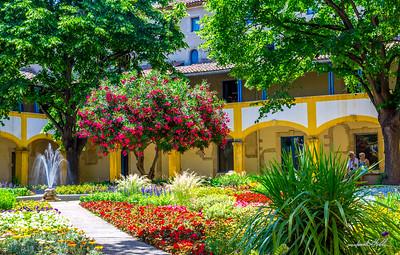 Van Gogh's Garten des Hospital
