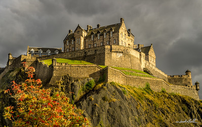 Sunlight, Edinburgh Castle