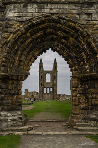 Remains of St Andrews Cathederal
