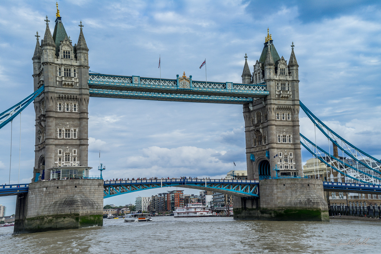 Tower Bridge and the River Thames