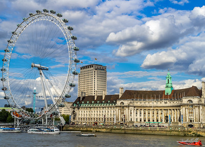 London Eye and Aquarium