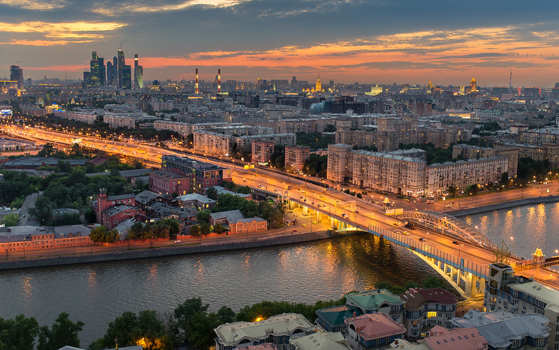 Moscow at Dusk