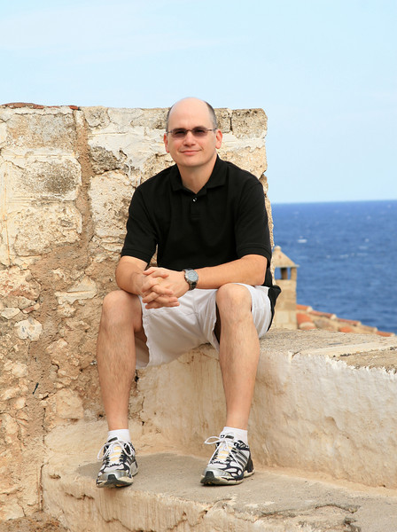 Steve in Monemvasia