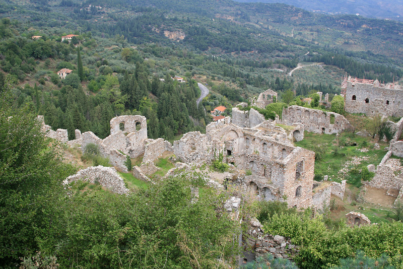 View of Middle City (Mystras)