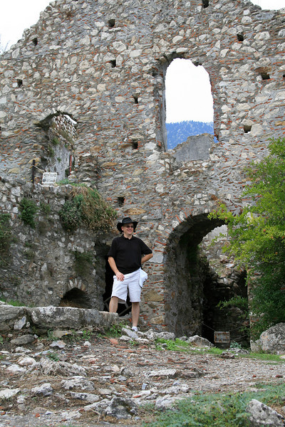 Steve in the Middle City (Mystras)