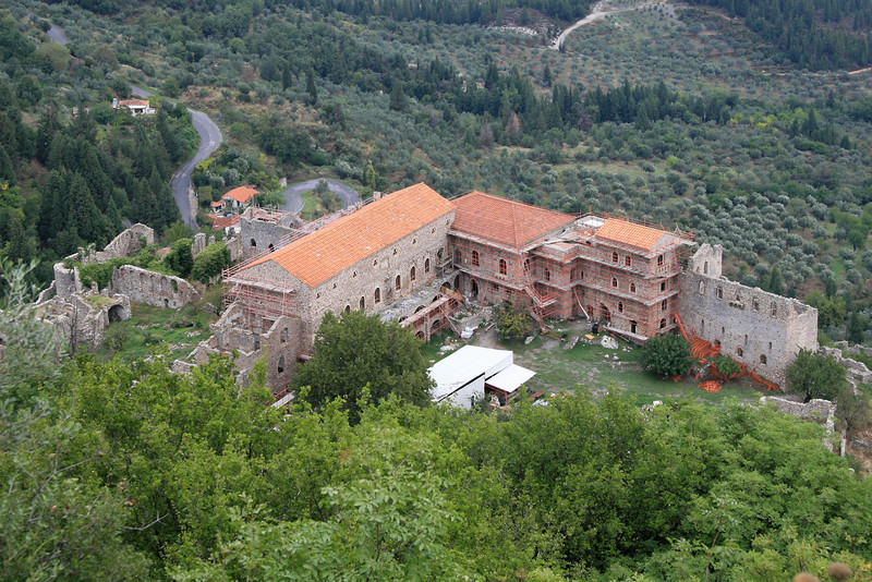 Mystras' Palace