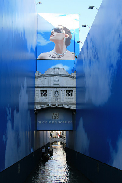 Bridge of Sighs (at least what we could see if it with the renovations going on)