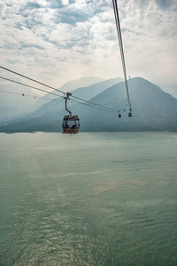 Tramway to Lantau Island, Hong Kong - 2014