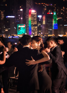 Tango at Victoria Harbor, Hong Kong - 2014