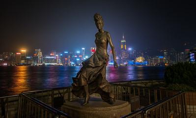 Hong Kong Avenue of Stars, Anita Mui Statue - 2014