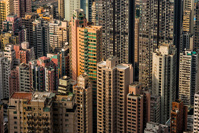 Hong Kong Apartment Buildings - 2014