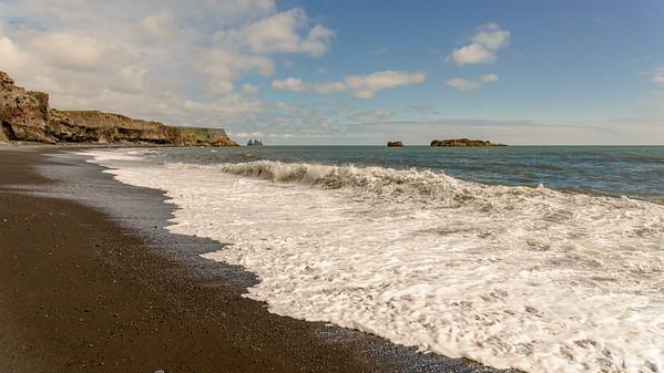 Black beach von Dyrhólaey