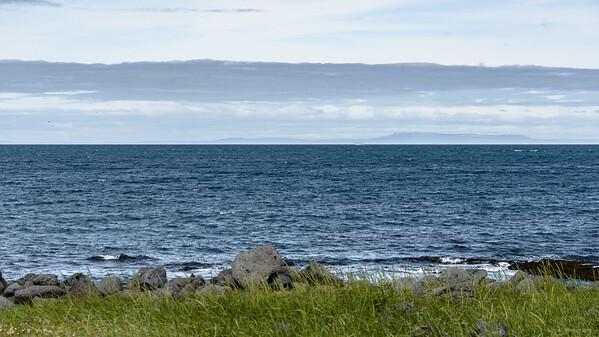 Blick auf die Westfjorde
