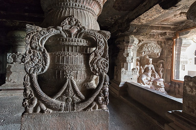 Jain Cave Temple, Ellora, India - 2017