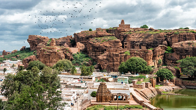 Temples in Badami, India - 2017