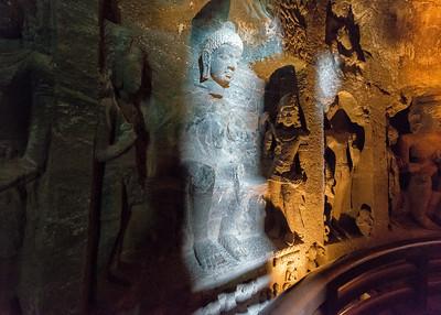 Ajanta Cave Temple , India - 2017