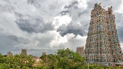 Meenakshi Amman Temple, Madurai, India - 2017