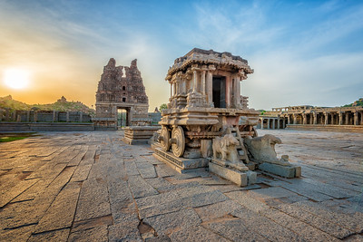 Vitthala Temple, Hampi, India - 2017