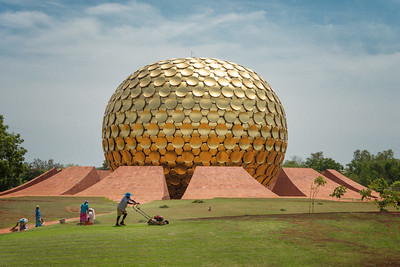 The Matrimandir, Auroville, India - 2017