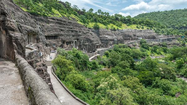 Ajanta Cave Temples , India - 2017