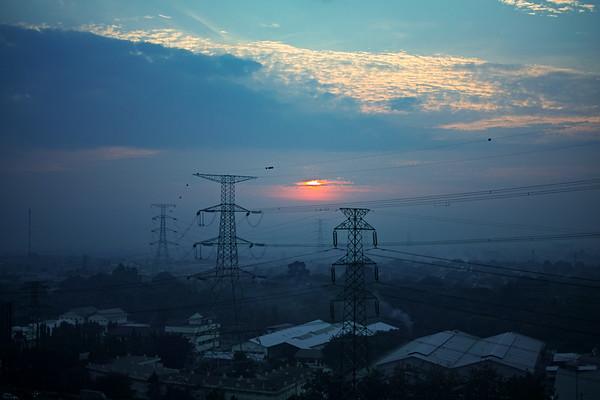 Sunrise from the 21st floor