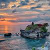 Sunset at Tanah Lot, Bali, Indonesia - 2016