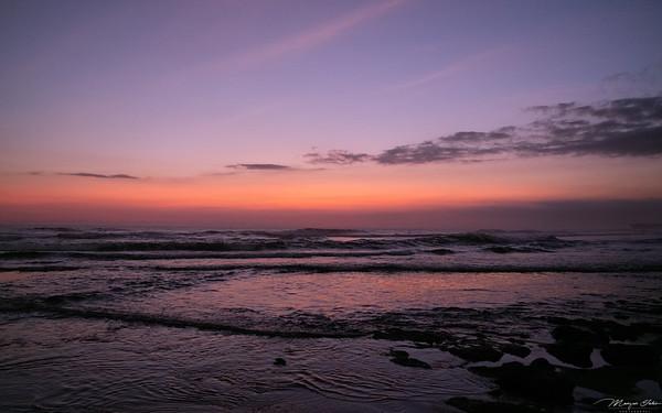 Sunset at Canggu beach, Bali