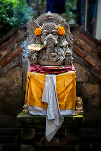 Ganesh Statue, Ubud, Bali, Indonesia - 2016
