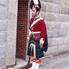 Royal Guard at The Citadel fort in Halifax, Nova Scotia, Canada.