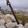 Anchor at Peggy's Cove, near Halifax, Nova Scotia, Canada.