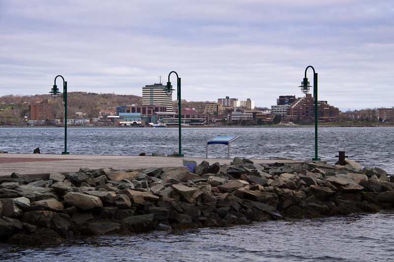 Halifax harbour and downtown, Nova Scotia, Canada.