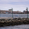 Halifax harbour and downtown, Nova Scotia, Canada.