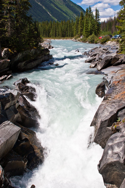 Numa Creek in Kootenay National Park in British Columbia, Canada.